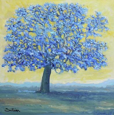Blue Breeze Art Print