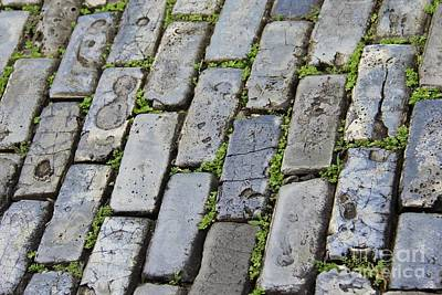 Photograph - Blue Bricks  by Suzanne Oesterling