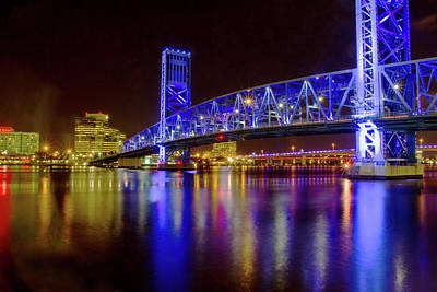 Photograph - Blue Bridge 2 by Arthur Dodd
