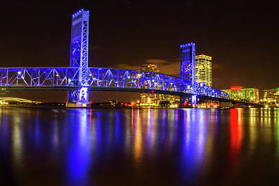 Photograph - Blue Bridge 3 by Arthur Dodd