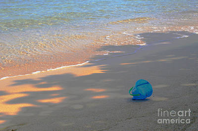 Photograph - Blue Bucket by Jeanette French