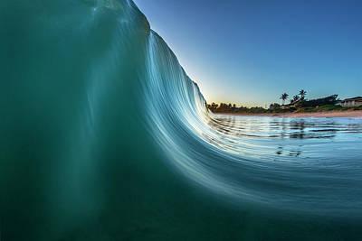 Photograph - Blue Bulldozer by Sean Davey