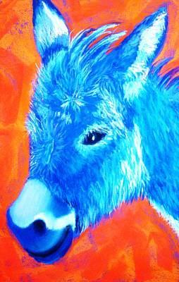 Painting - Blue Burrito by Melinda Etzold