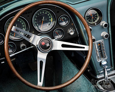 Photograph - Blue C2 Interior by Dennis Hedberg