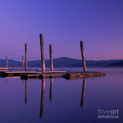 Photograph - Blue Calm by Idaho Scenic Images Linda Lantzy