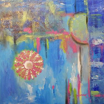 Painting - Blue Cantilever by Sue Furrow