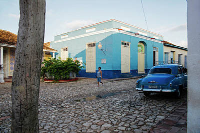 Photograph - Blue Car II by Yuri Santin