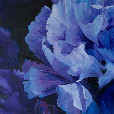 Painting - Blue Carnation by Judith Barath