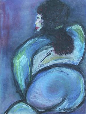 Painting - Blue by Carol Schindelheim