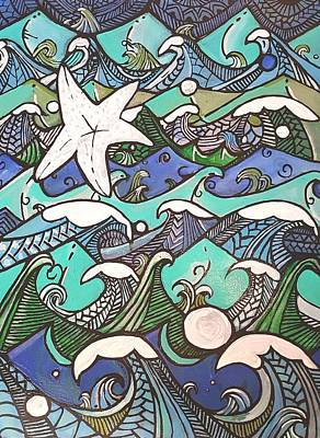 Painting - Blue by Carole Hutchison