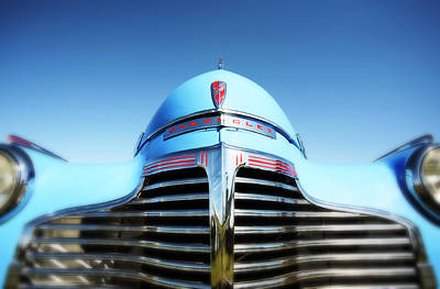 Chevrolet Master Photograph - Blue Chevrolet Master Deluxe by Neil Overy