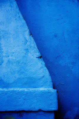 Photograph - Blue Chimney Burano Italy by Bob Coates