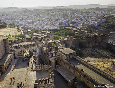 Photograph - Blue City Of Jodhpur by Fran Gallogly