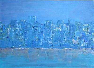 Painting - Blue City by Stella Arden