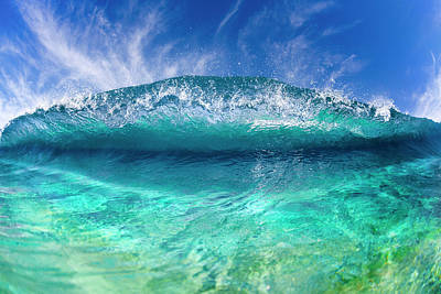 The North Sea Wall Art - Photograph - Blue Clam by Sean Davey