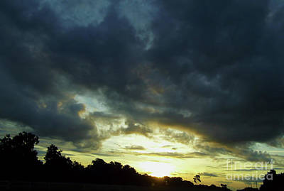 Photograph - Blue Clouds At Sunrise by D Hackett
