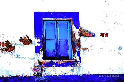 Digital Art - Blue Color by Rick Bragan