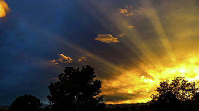 Sunsets Photograph - Blue Colorado Sunset by Holly O'Briant