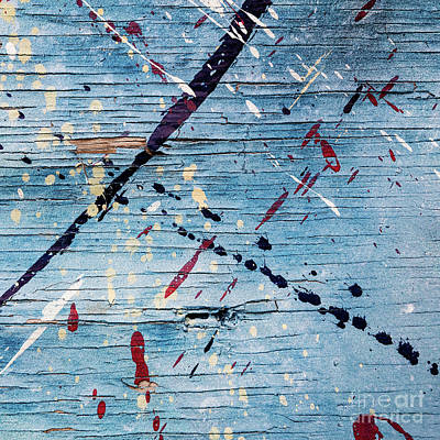 Photograph - Blue Commotion by Patti Schulze
