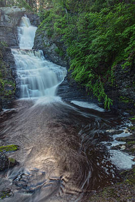 Photograph - Blue Copper Glow At Raymondskill Falls by Angelo Marcialis
