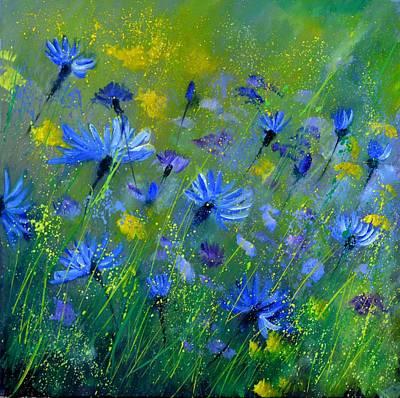Kitchen Collection - Blue Cornflowers 555160 by Pol Ledent