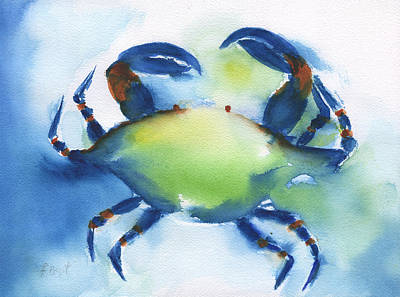 Painting - Blue Crab by Frank Bright