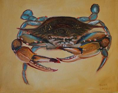 Painting - Blue Crab I by Karen Langley