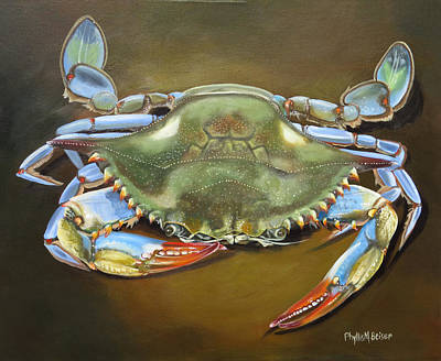 Painting - Blue Crab by Phyllis Beiser