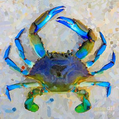 Painting - Blue Crab by Tammy Lee Bradley
