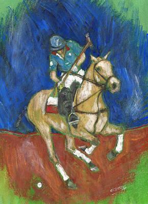 Painting - Blue Dance by Debora Cardaci