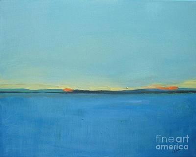 Painting - Blue Danube by Vesna Antic