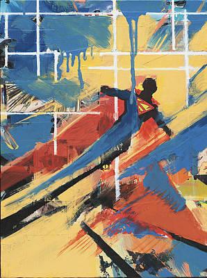 Painting - Blue by David Leblanc