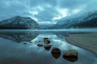 Photograph - Blue Dawn 1 by Jonathan Nguyen