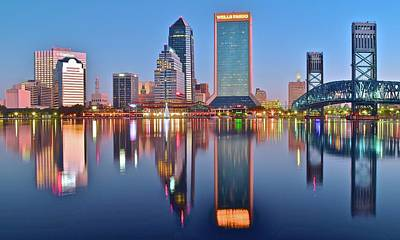 Photograph - Blue Day In Jacksonville by Frozen in Time Fine Art Photography