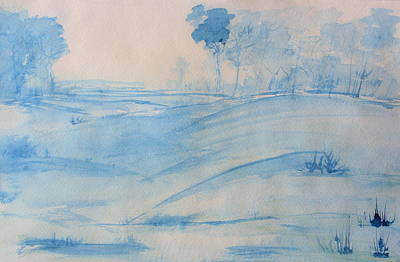 Painting - Blue Day by Julie Lueders