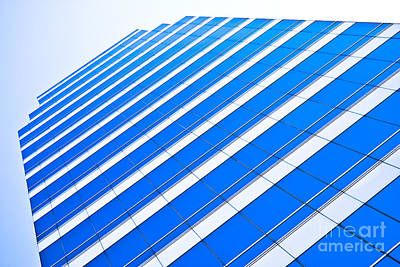 Print featuring the photograph Blue Day by Yurix Sardinelly