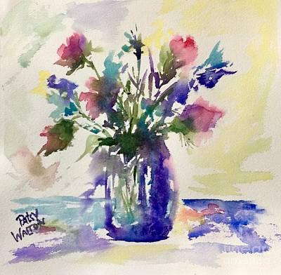 Painting - Blue Daze by Patsy Walton