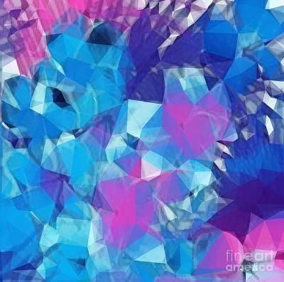 Digital Art - Blue Dazzle  by Gayle Price Thomas