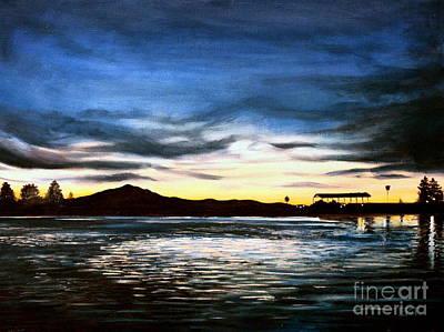 Elizaart Painting - Blue Diablo by Elizabeth Robinette Tyndall