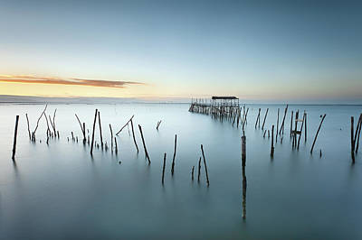 Photograph - Blue Dimension by Jorge Maia