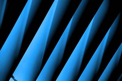 Avantgarde Photograph - Blue Directions by Susanne Van Hulst