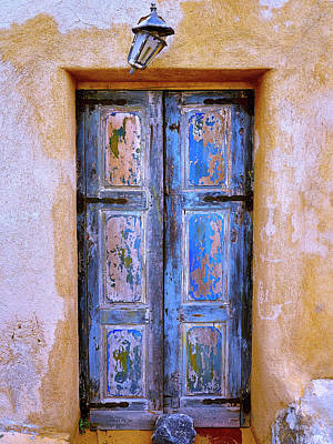Photograph - Blue Door 1 by Dominic Piperata