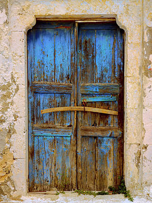 Photograph - Blue Door 2 by Dominic Piperata
