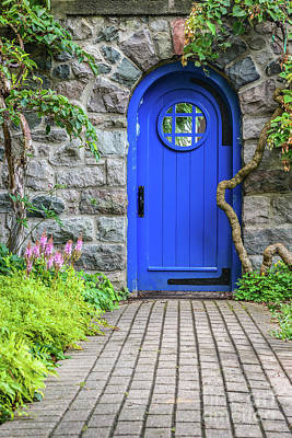 Photograph - Blue Door 2 by Patrick Shupert