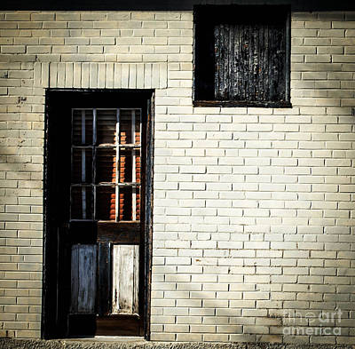 Photograph - Blue Door by Andrea Anderegg