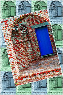 Photograph - Blue Door by Bill Howard