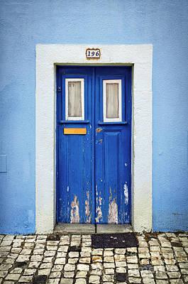 Blue Door Art Print by Carlos Caetano