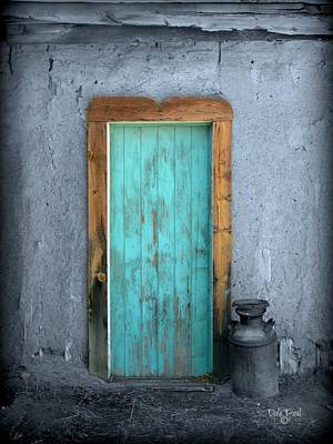 Photograph - Blue Door by Dale Paul