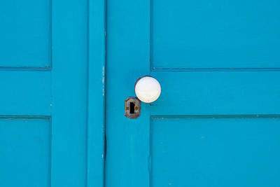 Photograph - Blue Door by Derek Dean