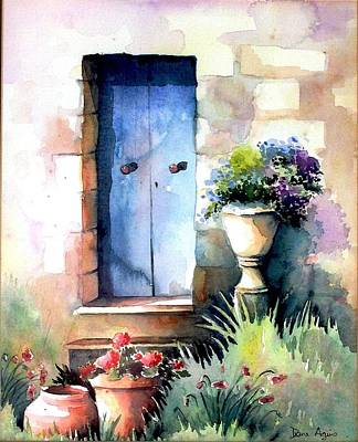Painting - Blue Door by Diane Agius Calleja